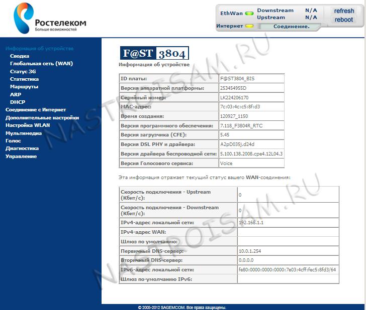 Sagemcom 5260 Openwrt