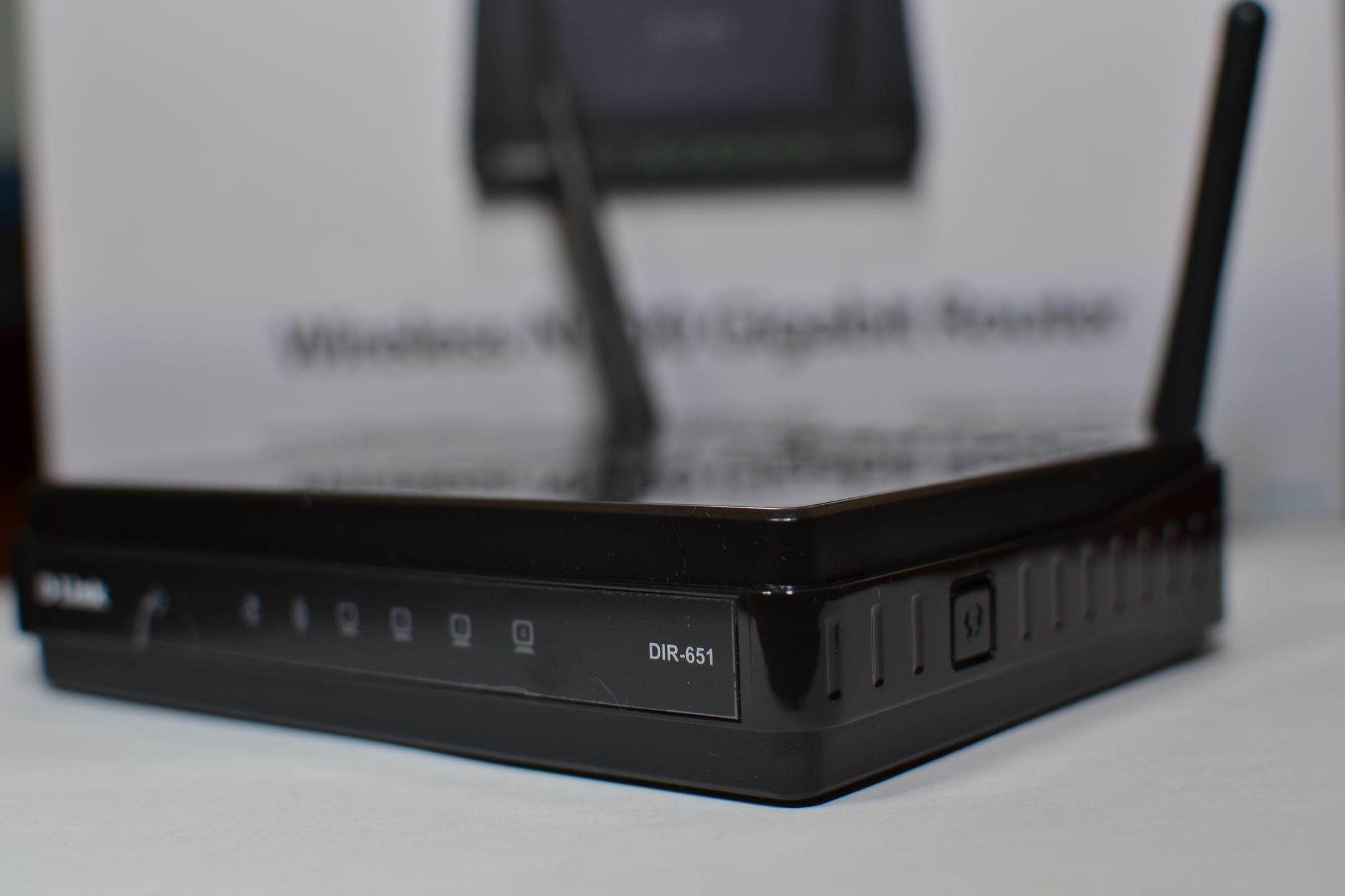 настройка wifi роутера DIR-651 A2