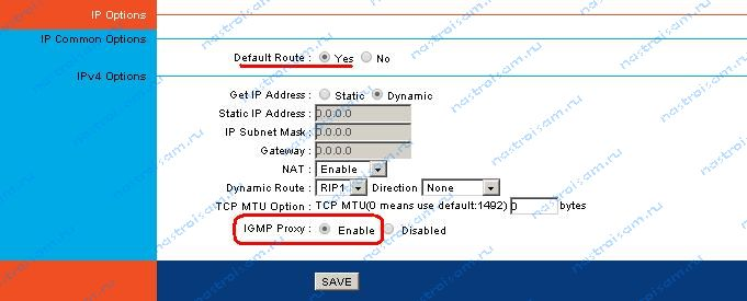 rt-a1w4l1usbn igmp proxy