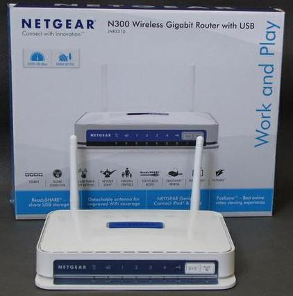 настройка netgear jnr3210 Wireless n300