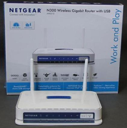настройка netgear jnr3210 Wireless n300