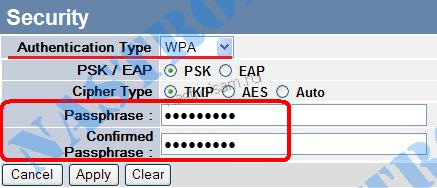 пароль wifi на trendnet