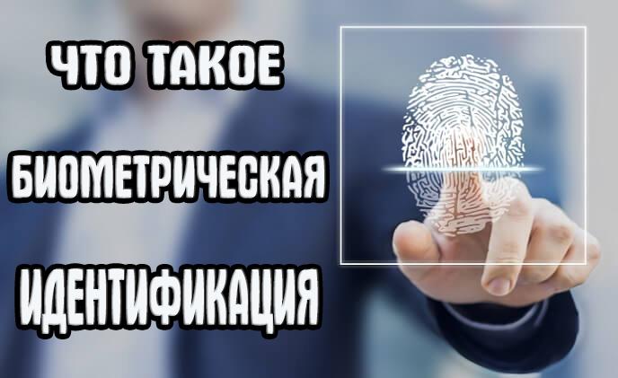биометрическая идентификация что это и зачем