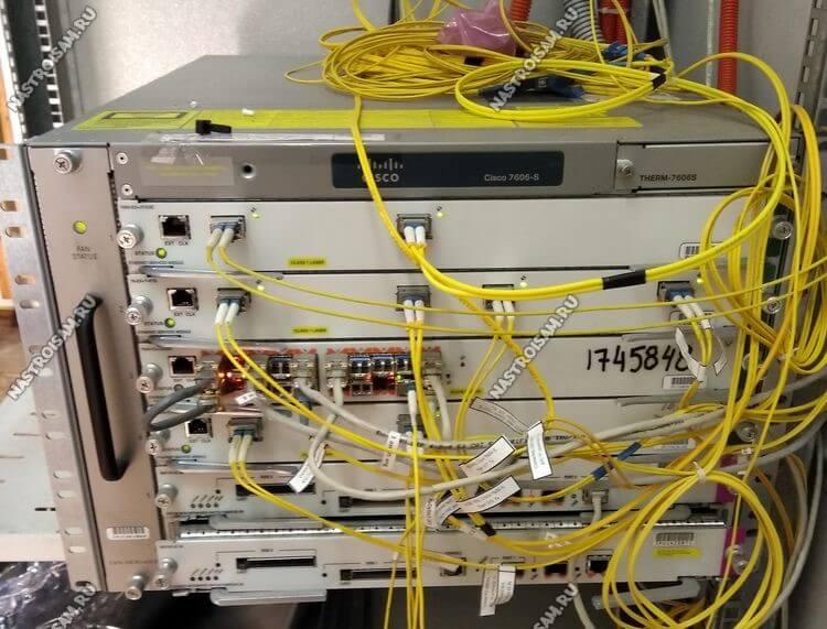 маршрутизатор cisco 7606 s