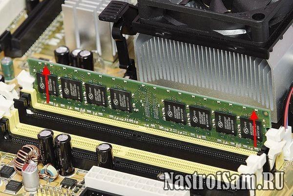проверка оперативной памяти тест