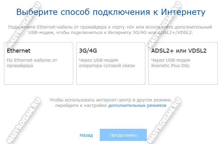 netfriend настройка способа подключения к интернету