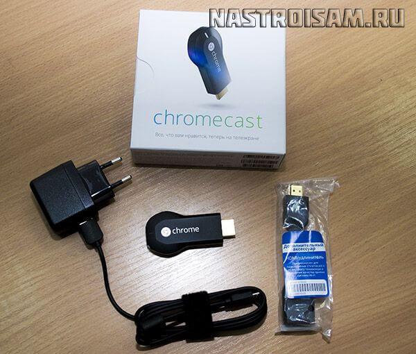 медиаплеер google chromecast обзор