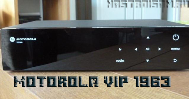 ТВ приставка Ростелеком Motorola vip 1963