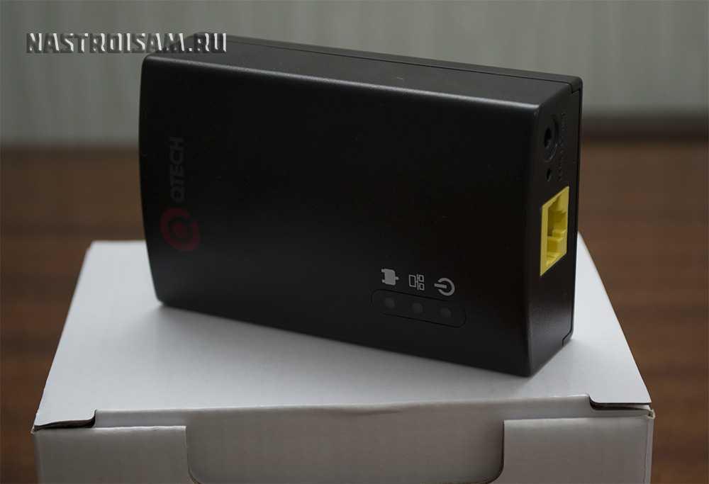 powerline plc-адаптер qtexh qpla-200