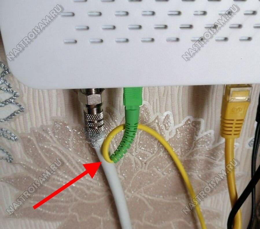 радиус изгиба кабеля GPON