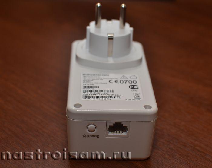 PLC-адаптер Sagemcom F@ST PLUG