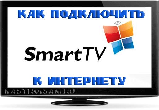 как подключить телевизор через wifir к интернет
