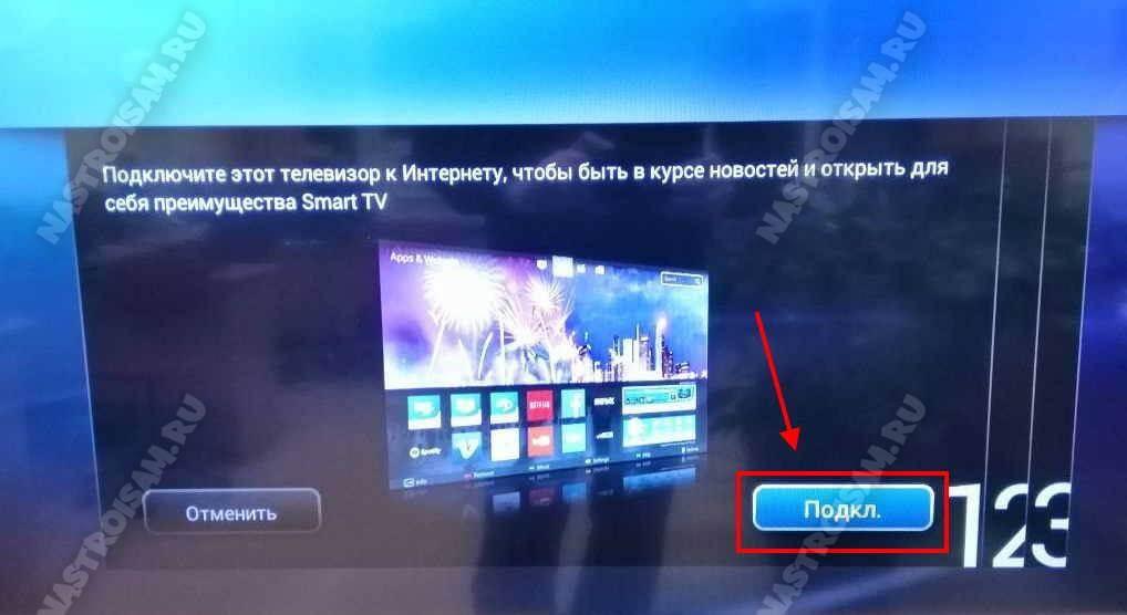 подключение телевизора через вай-фай роутер