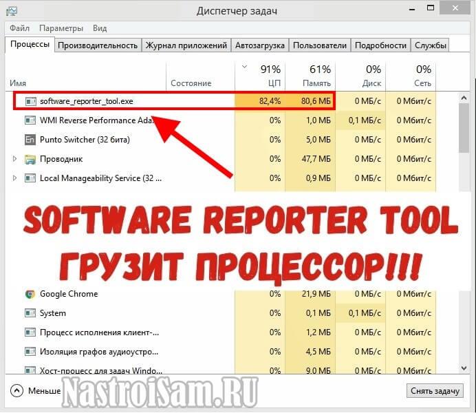 Software Reporter Tool что это