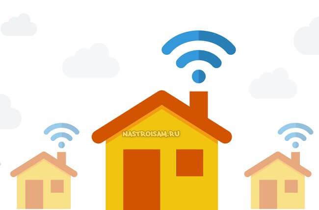 как увеличить зону WiFi