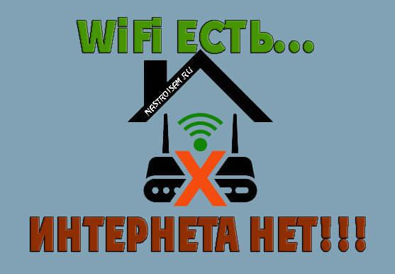 Wi-Fi подключен, а интернет не работает